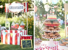 Carnival themed wedding via Kara's Party Ideas - www.KarasPartyIdeas.com
