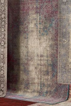 Buy Antique Effect Fuchsia Oriental Rug from the Next UK online shop