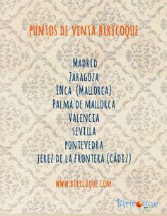 Si estás de vacaciones no te olvides de consultar nuestro mapa Biricoque, ¡seguro que tienes una tienda cerca con nuestra colección!  Estamos en #Mallorca, #Zaragoza, #Sevilla, #Pontevedra, #Valencia, #Cádiz y #Madrid. Consulta las direcciones en http://biricoque.com/puntos-de-venta/ ¡Te estamos esperando!
