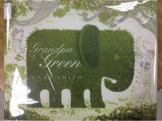 Mrs. Knight's Smartest Artists: Grandpa Green - positive/negative shape