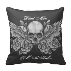 Rest your head on one of Zazzle's Skull decorative & custom throw pillows. Skull Pillow, Chicago Illinois, Decorative Throw Pillows, Goth, Cool Stuff, Vintage, Gothic, Accent Pillows, Goth Subculture