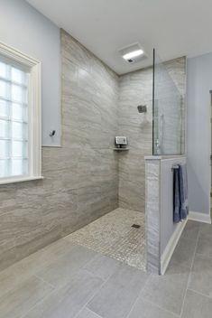 Handicap Bathroom, Master Bathroom Shower, Bathroom Renos, Bathroom Renovations, Modern Bathroom, Bathroom Ideas, Bathroom Styling, Budget Bathroom, Bathroom Cabinets
