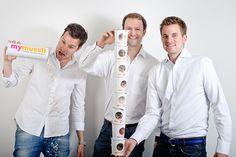 Die Jungs - Max, Philipp und Hubertus! #mymuesli