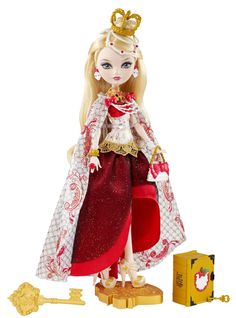 Amazon.com: Ever After High Legacy Day Apple White Doll: Toys & Games