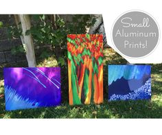 Introducing my small aluminum art prints for sale! Various sizes but limited quantity. Sale prices for a limited time only. The beautiful shine and depth from the aluminum make the crystal images pop!