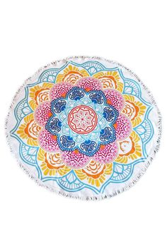 Bohemian Mandala Lotus Round Beach Towel Roundie Blanket #roundblanket #roundie #springbreak2017 #spring #sunshine #summer #summervibes #roundbeachblanket #roundbeachthrow #roundbeachtowel #beach #beachthrow #beachtowel #terrycloth #new #popular #2017 #sandbetweenmytoes #popular #bohochic