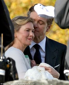 The baby's here! Renee Zellweger and Colin Firth were seen filming scenes for the forthcom...