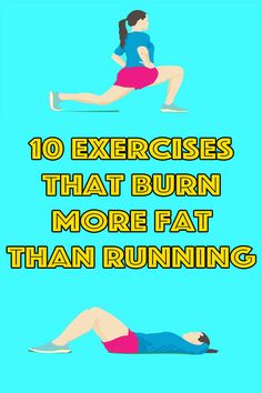 healthy living strategy: 5 Exercises That Will Give You Better Results Than Running Health And Wellness, Health And Beauty, Health Fitness, Fitness Tips, Fitness Plan, Fitness Exercises, Workout For Beginners, Fast Weight Loss, Healthy Tips