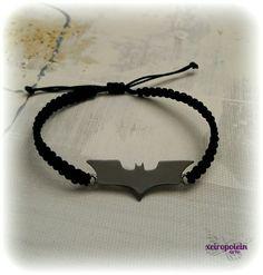 Βραχιόλι μακραμέ batman Batman