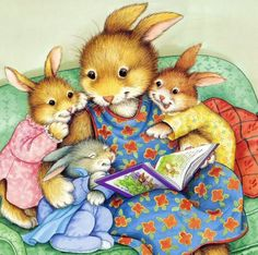 Moms stay up just to read their kids a bedtime story...priceless.