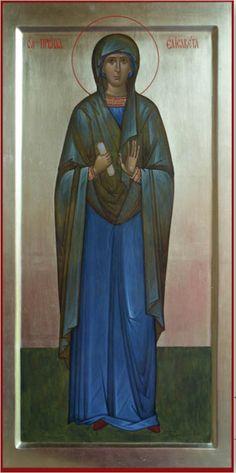 Pyhä Elisabet Johannes Edelläkävijän äiti