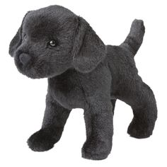 Murphy the Little Plush Black Lab by Douglas at Stuffed Safari ($8.09) ❤ liked on Polyvore featuring stuffed animal, toys, dog, kids and plush
