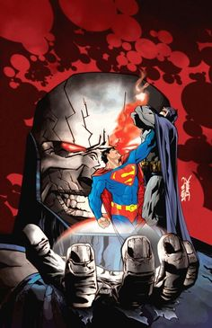 Superman v Batman in the hands of Apokolips