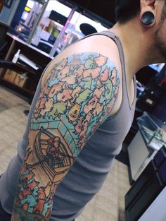 Dance gavin dance tattoo