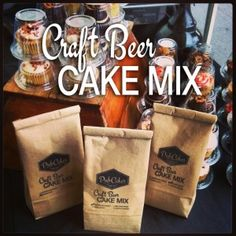 Craft Beer Cake Mix - a fun way for you to bake with your favorite beer!