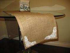 OOAK Vintage Stylish Table Runner Natural by NatalyLosAngeles, $14.99