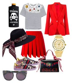 """RichGirl"" by malikohenny on Polyvore featuring Gucci, Miu Miu, Alexander McQueen, Audemars Piguet and STELLA McCARTNEY"