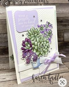 Hand Made Greeting Cards, Greeting Cards Handmade, Card Making Inspiration, Making Ideas, Karten Diy, Alcohol Ink Crafts, Stamping Up Cards, Cactus, Cool Cards