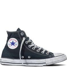 Chuck Taylor All Star LTD Smoke In Black/Black/White