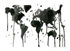 It's a Black and White World - Gicleetryck av Jessica Durrant på AllPosters.se