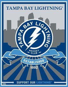 Love my Lightning Pro Hockey, Hockey Teams, Hockey Stuff, Basketball Uniforms, Tampa Bay Hockey, Tampa Bay Lighting, Nhl Logos, Sports Logos, Sports Teams