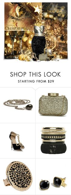 """""""Happy New Year Polyfriends!"""" by angkclaxton ❤ liked on Polyvore featuring Reception, Badgley Mischka, Trollbeads, Lulu Guinness, Witchery and Coach"""
