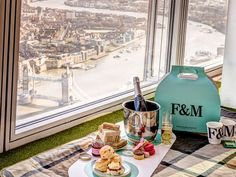 This week, The Shard launched its much-anticipated Sky-High Tea Experience, allowing guests to enjoy afternoon tea on its open-air sky deck towering nearly 1,000 feet above London. But if you prefer your afternoon tea a little more traditional—or something else entirely—the city offers endless permutations of the centuries-old tradition.