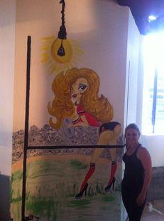 pintura mural . pub.,3T Madrid