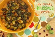 Kid-Friendly Brussels Sprouts.  Tossed in honey and Parmesan then slow roasted.  Even your pickiest eater won't be able to resist!