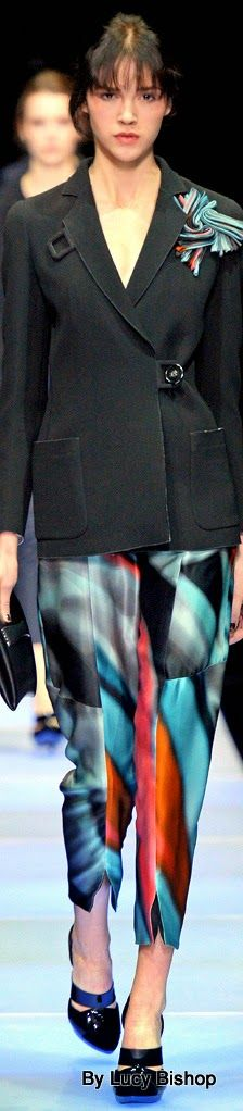 Class never goes out of style. / Lucys blog the haute stream...: Giorgio Armani Fall 2015 RTW