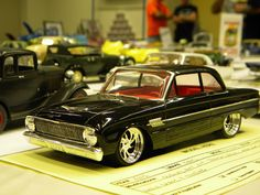 Ford Falcon - Cool little model. Love the red interior.