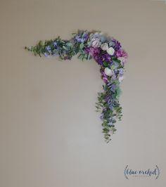 Eucalyptus Garland, Wedding Garland, Backdrop, Boho, Wedding, Wedding Decor, Silk Flower Backdrop, Wedding Backdrop, Wedding Arch Flowers by blueorchidcreations on Etsy
