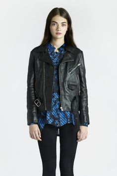 Fecto Leather Jacket - SS13 Women, Jackets - Surface to Air online store