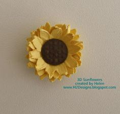 If you need a fun craft to brighten up your life, then try the 3D Sunny Sunflower. This DIY paper craft is so easy to make, and it won't burst your budget.