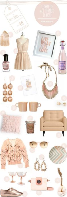 blush gift guide #giftguide #giftideas #pink