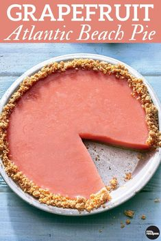 Grapefruit Atlantic Beach Pie Tangy grapefruit is featured in this chilled Atlantic Beach pie. With a sweet and buttery crust, this summer pie recipe is perfect for picnics or cook outs. Summer Dessert Recipes, Just Desserts, Delicious Desserts, Grapefruit Recipes Dessert, Potluck Recipes, Atlantic Beach Pie, Yummy Treats, Sweet Treats, Vegan Treats