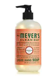 Mrs. Meyer's Clean Day Geranium Soap was recommended for use as a mosquito repellent in a forum on www.apartmenttherapy.com $3.99