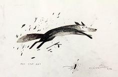 """Jon Klassen, """"Pax Leaping"""""""