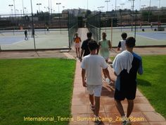 International Tennis Summer Camp in Alicante. Language -Spanish or English- and Tennis Training camp organised in co-operation between Zadorspain language schools and one of the best Tennis Academies in Spain, Tennis Com, in Alicante.