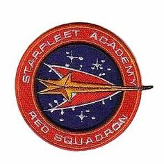 Have one to sell? Sell it yourself Details about  Star Trek Starfleet Academy Red Squadron Patch (eBAY, 2014)