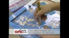 Stencil OPA - 27/05/2014 - Mayumi Takushi - Bandeja Magnólias