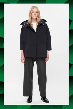 50 Winter Coats For Every Budget #refinery29  http://www.refinery29.com/winter-coats-for-every-budget#slide-14  $100-$250Remove the hood on this baby for double the action.Cos Jersey Cape Jacket, $190, available at Cos....
