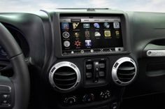 PlayBook inside Jeep