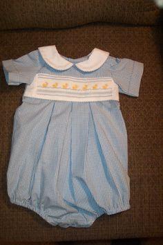 Baby Boy Bubble made by Linda Regan Creamer.