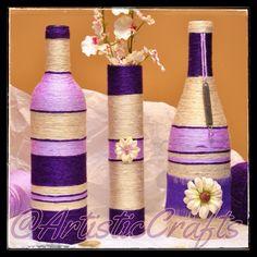 Purple, Lavender and Beige Set
