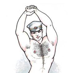 John [new year first paper boy] #avresdesign #boy #gayart #gay