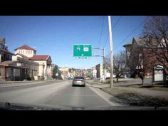 A DRIVE THROUGH FAIRMONT,WEST VIRGINIA_ (March 9, 2013) my college campus is between 12:30 & 13:30