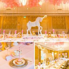 pink-and-gold-carousel-baby-shower
