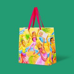 A uniquely fun and, modern interpretation of Babaylan, a Philippine fiesta that celebrates the healing of body and spirit by high priests and miracle workers. Art by Maurice Risulmi for Gifthaven. See www.gifthaven.com.ph High Priest, Gift Bags, Ph, Boxes, Reusable Tote Bags, Healing, Spirit, Gift Ideas, Modern