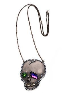 'Homegirl Skull' Necklace $310.00 USD